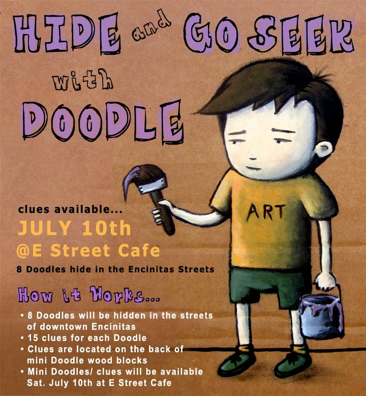 Doodle Art Show at E Street Cafe