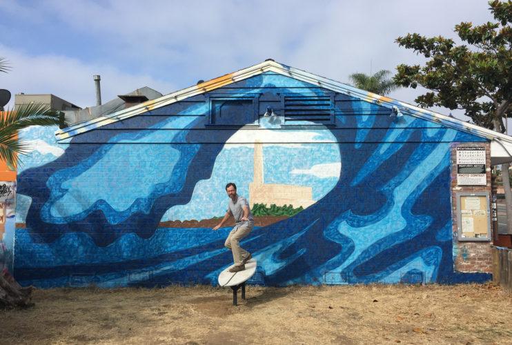 Bryan Snyder Carlsbad Art Wall